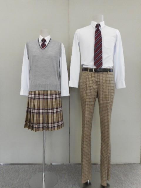 東川高等学校制服画像
